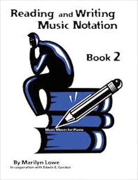 Music Moves for Piano Reading and Writing Book 2 G-7936