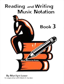 Music Moves for Piano Reading and Writing Book 3 G-7976