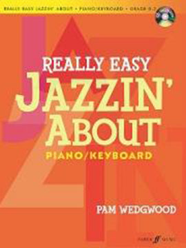 Really Easy Jazzin' About  Pam Wedgwood Piano Keyboard Includes CD