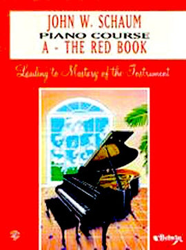 Schaum Piano Course A Red Book EL00166A
