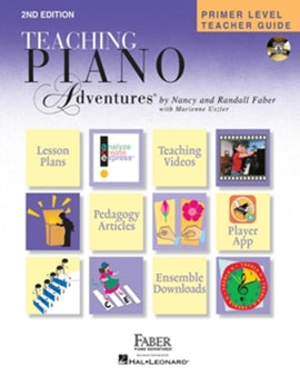 Piano Adventures, Primer Level Teacher Guide Second Edition, 9781616772031