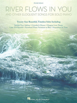 River Flows In You, 24 Piano Solo Songs, Hal Leonard, 9781480366527