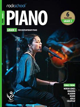 Rockschool Piano Grade 3 2019  9781789360486