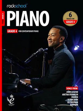 Rockschool Piano Grade 4 2019  9781789360493