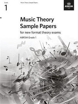 Music Theory Sample Practice Papers - Grade 1 ABRSM New Format Theory Exams