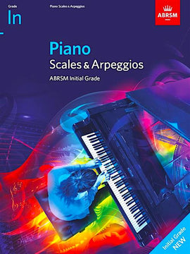 ABRSM Piano Scales & Arpeggios from 2021 - Initial
