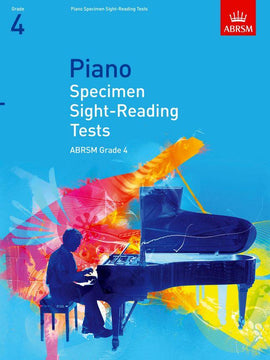 Piano Specimen Sight-Reading Tests Grade 4 ABRSM  9781860969089