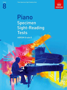 Piano Specimen Sight-Reading Tests Grade 8 ABRSM  9781860969126