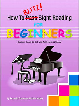 How To Blitz! Sight Reading for Beginners, Samantha Coates, 9781877011870