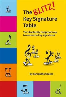 The Blitz Key Signature Table Samantha Coates 9781785583605