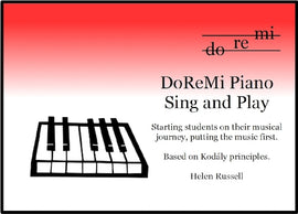 Sing and Play DoReMi Piano Helen Russell DRM01
