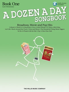 A Dozen A Day Songbook Book One Later Elementary Level with Audio Download