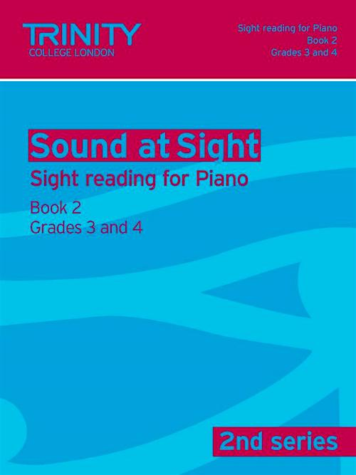 Sound at Sight Piano Book 2 Grade 3 to Grade 4 2nd Series TG009197
