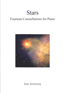Stars June Armstrong Fourteen Constellations for Piano 9790900235022