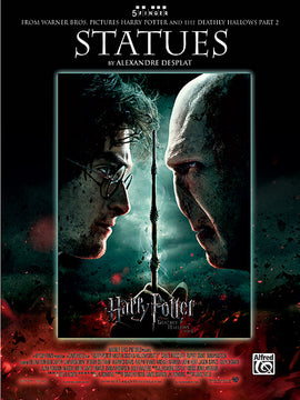 Statues Harry Potter Deathly Hallows Theme Alexandre Desplat Sheet Music 38817