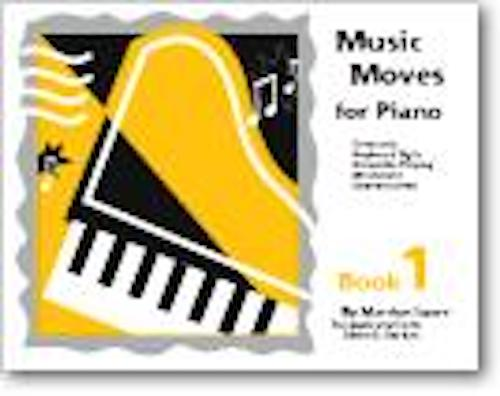 Music Moves for Piano Student Book 1 G-6439