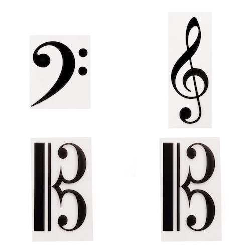 Extra Symbol Set: Pack of 'Clef' symbols  4 in pack  7109611640414