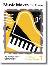 Music Moves for Piano Teacher's Lesson Plans Book 1 G-6440