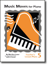 Music Moves for Piano Teacher's Lesson Plans Book 5 G-8496