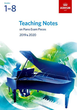 ABRSM Teaching Notes Piano Exam Pieces  2019-2020 9781786010759