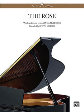 The Rose Amanda McBroom Piano Sheet Music Bette Midler 723188800803