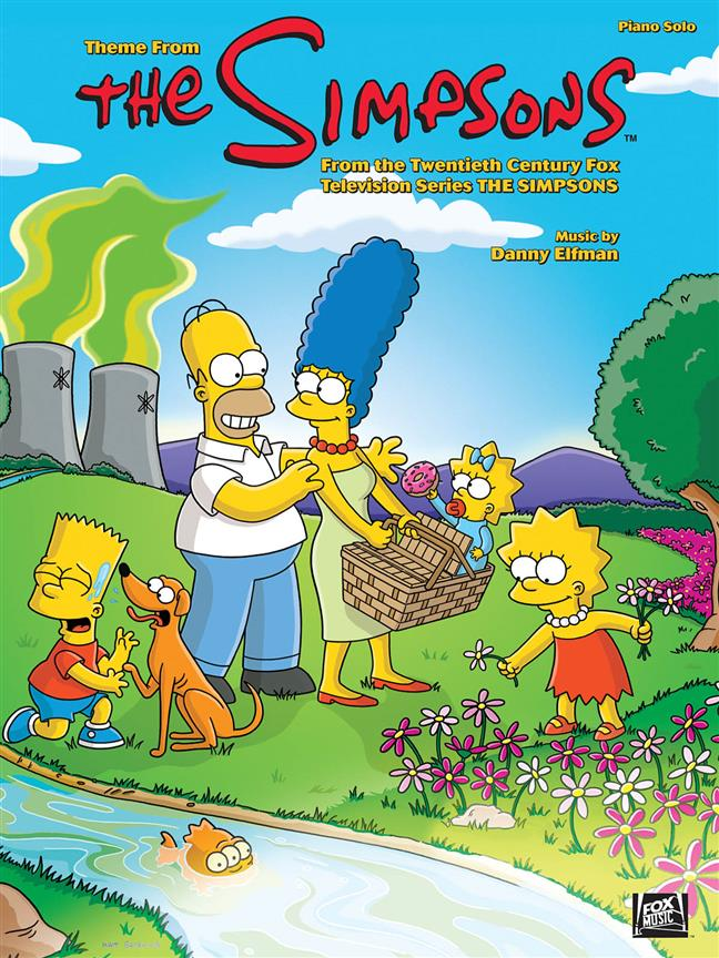 The Simpsons TV Series Theme by Danny Elfman Sheet Music HL00352981