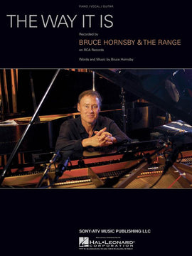The Way It Is Bruce Hornsby & The Range Piano Vocal and Guitar Sheet Music