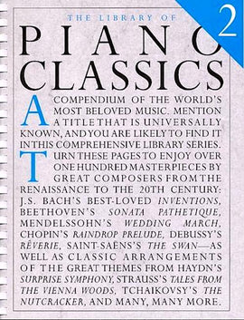 The Library Of Piano Classics 2 - 103 Classical Masterpieces AM91728