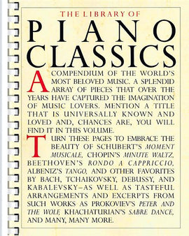The Library Of Piano Classics 72 Classical Masterpieces HL14019046