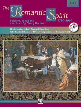 The Romantic Spirit Book 2 Piano Solo Nancy Bachus Daniel Glover 4639