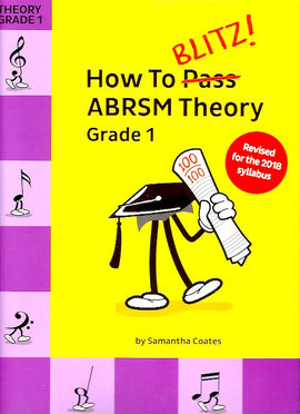 How To Blitz! ABRSM Theory Grade 1, Samantha Coates, (2018 Revised) 9781785589355