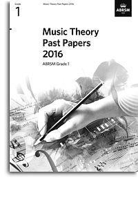 Music Theory Past Papers 2016 Grade 1 ABRSM  9781848498211