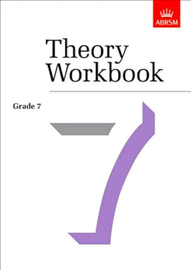 Theory Workbook Grade 7 Abrsm 9781860960888