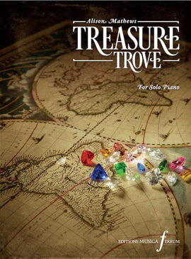 Treasure Trove Alison Mathews 17 Solo Piano Pieces inspired by Gemstones