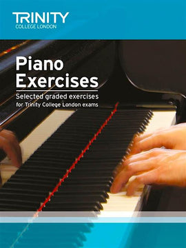 Trinity Piano Exercises Grades Initial to Grade 8 TCL015303
