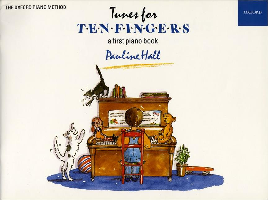 Tunes for Ten Fingers first book Pauline Hall Oxford 9780193727380