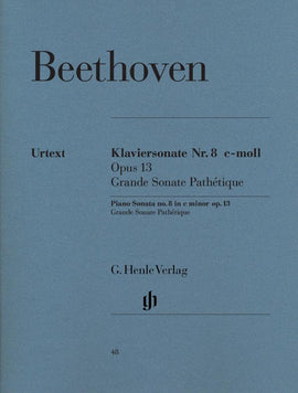 Grande Sonate Pathétique Beethoven Piano Book Urtext Henle 9790201800486 HN48