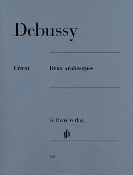 Deux Arabesques Debussy Henle Urtext Piano Book  9790201803807  HN380