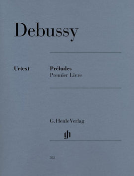 Preludes 1 Debussy Piano Book Urtext Henle  9790201803838  HN383