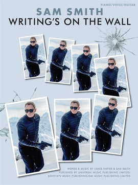 Writing's on the Wall Sam Smith James Bond Spectre Theme Sheet Music