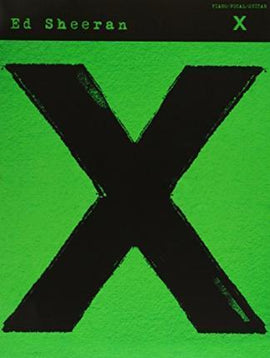 Ed Sheeran X Multiply Album Piano Vocal Guitar Music Songbook 9781783056910
