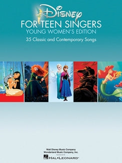 Disney for Teen Singers Young Women's Edition, 35 Disney Hits, 9781495009976