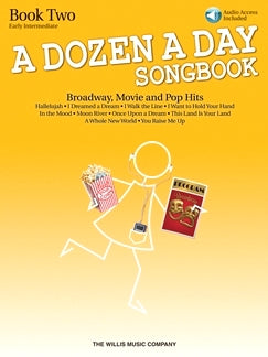 A Dozen A Day Songbook Book Two Early Intermediate Level Hallelujah Grade 3