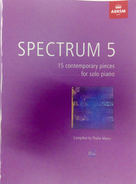 Spectrum 5 ABRSM 15 Contemporary Pieces for Solo Piano 2836904