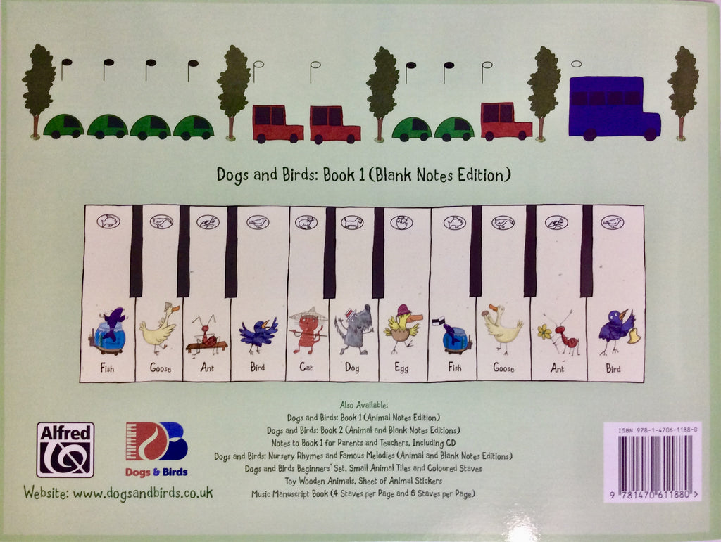 Dogs & Birds Piano Method 2 (blank) Elza Lusher 0957384815