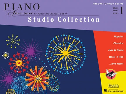 Piano Adventures Studio Collection Student Choice Series Level 1