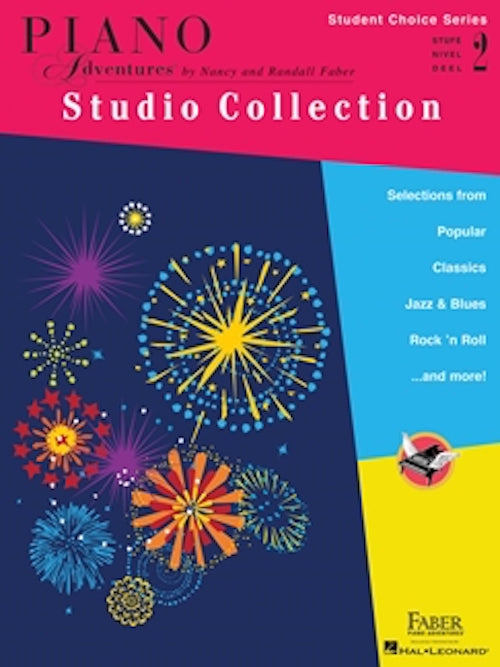 Piano Adventures Studio Collection Student Choice Series Level 2