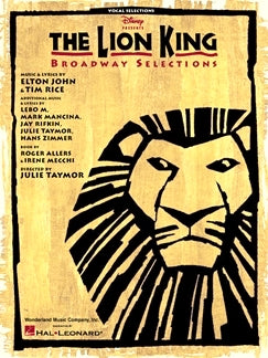 The Lion King Broadway Selections, Elton John & Tim Rice, 9780793591947
