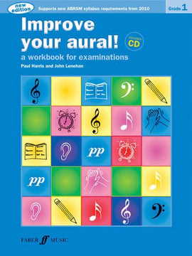 Improve your aural! +CD Grade 1 Paul Harris 9780571534388