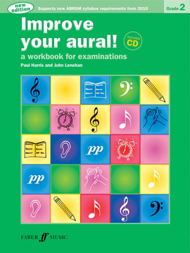 Improve your aural! +CD, Grade 2, Paul Harris,  9780571534395